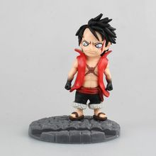Fourth Gear One Piece Luffy Phone Support Holder painted 1/9 scale Monkey D Luffy Doll PVC Action Figure Collectible Model Toy(China)