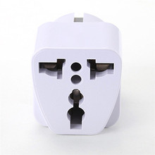 Best Price Binmer Universal UK US AU to EU AC Power Plug universal Travel Charger Adapter Outlet Converter 0.78(China)