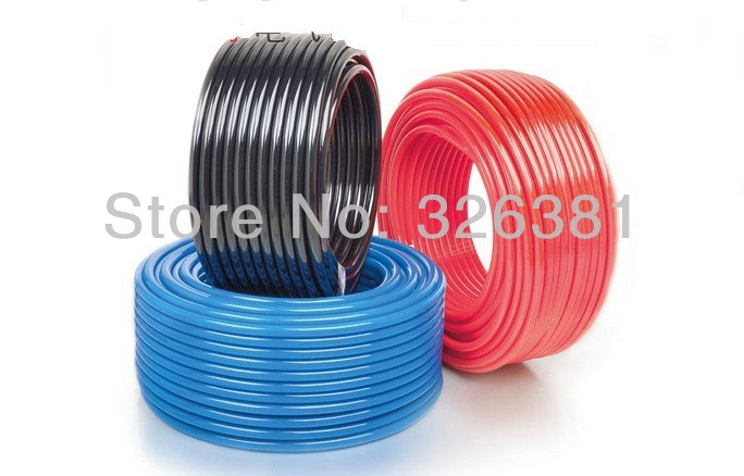 New pneumatic pipe PU tube / pneumatic tubes PU4*2.5mm 200 m / plate Pneumatic tools Direct selling<br>
