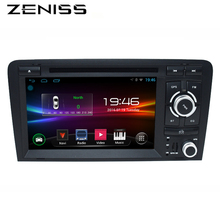 Free shipping 7inch Android 2DIN Car DVD Player For AUDI A3 S3 RS3 2003-2011 dvd car 2Din A3 DVD forAudi A3 Wifi GPS Navi Radio