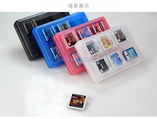 10pcs/Lot OEM High Quality Hot Accessories Parts Memory Card Cases for 28 in 1 card box for 3DS/3DS LL/3DS XL