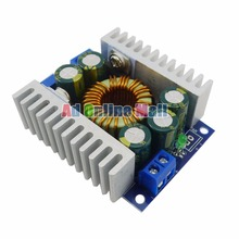 5PCS/LOT DC Adjustable Voltage Regulator Module DC 4.5-30V to 0.8-30V 12A Buck Converters High Power Step Down Car Power Supply(China)
