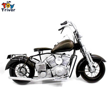 Home Office shop Decor handmade vintage craft  limited Harley motocycle car model creative boyfriend Valentine's gift toy
