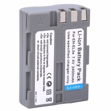 High quality EN-EL3e EL3e 7.4V 2400mAh Camera Batteries For Nikon ENEL3E EN EL3E D30 D50 D70 D90 D70S D300 + Wholesale(China)