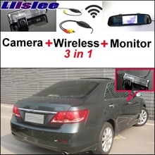 liislee Special Camera + Wireless Receiver + Mirror Monitor Easy Backup Parking System For TOYOTA Aurion Camry XV40 2006~2011