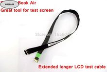Genuine New longer lcd cable for MacBook Air A1370 A1466 A1465 A1369 screen test, extended cable, great tool(China)