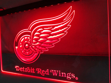 LD086- Detroit Red Wings LED Neon Light Sign