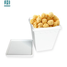 Silicone Microwave Popcorn Maker Bucket Snack Bucket Barrel Family Party Events Supplies Popcorn Container Home(China)