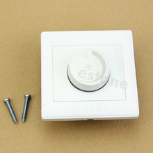 New 220V Adjustable Controller LED Dimmer Switch For Dimmable Light Bulb Lamp #K4U3X#