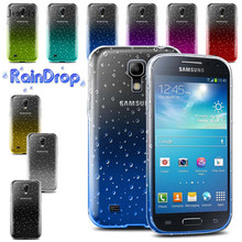 Discount ! 3D waterdrop TPU Soft Gel Raindrop Case For Samsung Galaxy S4 mini I9190, Back Cover Phone case For Samsung S4 mini(China)