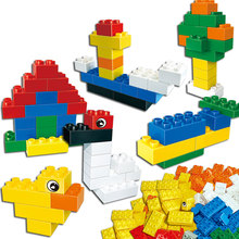 Buy New Designer Large Bricks Kids Toy Classic DIY Constructor Building Blocks Sets City Educational Toys Children Gift 8 Colors for $31.39 in AliExpress store