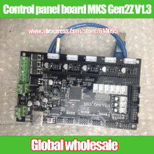 1pcs 3D printer control panel board MKS Gen2Z V1.3 Ramps1.4 / 3D printer accessories supports dual Z-axis motor control board