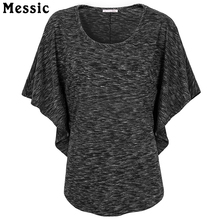Buy Messic Korean Style Batwing Summer Tops Flare Short Sleeve Shirt Casual Top Tees Loose Black Knitted Tee Plus Size Shirt Femme for $9.99 in AliExpress store