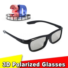 Family Necessities Passive Polarized 3D Glasses for Sony for Samsung Dimensional Anaglyph Movie DVD TV Video Device Magazine