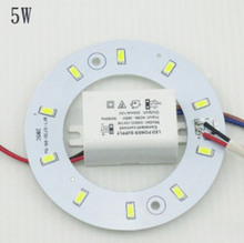 Free Shipping Diameter 5W  Magnetic LED Circular Board Lights/Magnetic Led Ceiling Ring Lamps