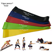 Vigor Power Gear 5 Levels Available Pull Up Expander Fitness rubber loop Yoga Resistance bands Loop Bands For Training Body