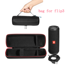 2017 Newest Carry Travel Protective Cover Case Pouch Bag For JBL Flip 3 Flip3 Bluetooth Column Extra Space For Plug & Cables