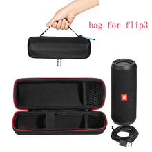 2017 Newest Carry Travel Protective Cover Case Pouch Bag For JBL Flip 3 Flip3 Bluetooth Column Extra Space For Plug & Cables(China)