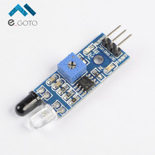 5pcs Smart Car Obstacle Avoidance Sensor Module Barrier IR Infrared Module Photoelectric Reflection Sensor 3 Wire for Arduino
