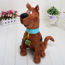 13'' 33cm Soft Plush Cute Scooby Doo Dog Dolls Stuffed Toy New for kids(China)