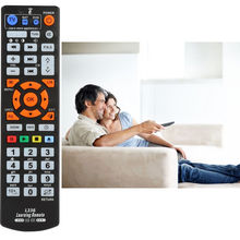 IR Universal Smart Remote Control Controller With Learn Function For TV VCR CBL DVD SAT-T VCD CD HI-FI AND MORE(China)