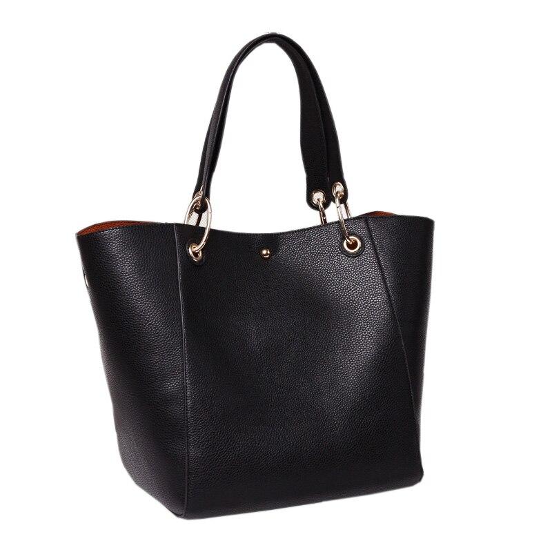 Women Handbags Genuine Leather Hobos Bag Fashion Brand Design Tote Bag Luxury Shopping Shoulder Bags High Quality Handbags <br>