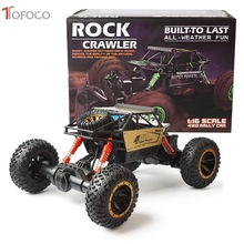Buy TOFOCO New Alloy High Speed Four-Wheel Drive Rc Car Climbing Dirt Bike Buggy Radio Remote Control Racing Car Model Toys Kids for $56.60 in AliExpress store