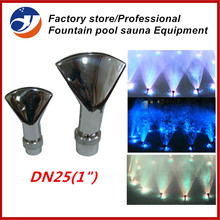 "(6pcs/pack) 1"" ADJUSTABLE FAN STAINLESS STEEL GARDEN DESIGN FOUNTAIN NOZZLE(China)"