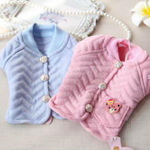 Kawaii Pet Shop Short Dog Coats Chihuahua Yorkshire Dog Clothes Pet Cat Clothes for Dogs Maltese Miniature LPWT02