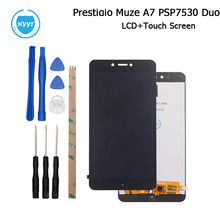 5.3inch For Prestigio Muze A7 PSP 7530 Duo LCD Display and Touch Screen 100% Good Screen Digitizer Assembly +Tools+Adhesive