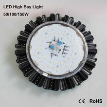 Commercial lighting industries promotion shop for promotional powerful 50w ip65 waterproof led high bay light day white extremely bright for industrial commercial lighting use mozeypictures Gallery