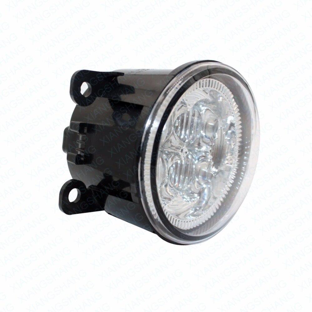 LED Front Fog Lights For MITSUBISHI L200 KB_T KA_T Pickup  2005-15 Car Styling Bumper High Brightness DRL Driving fog lamps 1set<br>