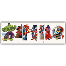 Spider Man DC Comics Superhero Poster Image For Home Decoration Silk Canvas Fabric Print Poster Wallpape DY1030