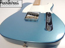 China guitars Custom Shop/ Maple Fingerboard/ telecaster Electric Guitar/Customizable exclusive LOGO/Metallic blue