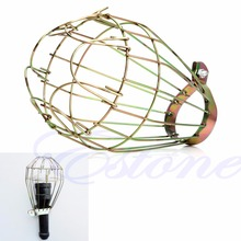 Lamp Covers Industrial Retro Iron Wire Bulb Guards Clamp Metal Lamp Cage Trouble Light Parts