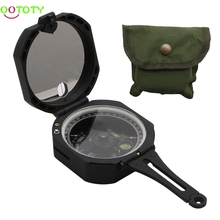 Plastic 0-360 Degrees Hiking Gear Compasses & GPS High Precision Magnetic Pocket Transit Geological Compass Scale
