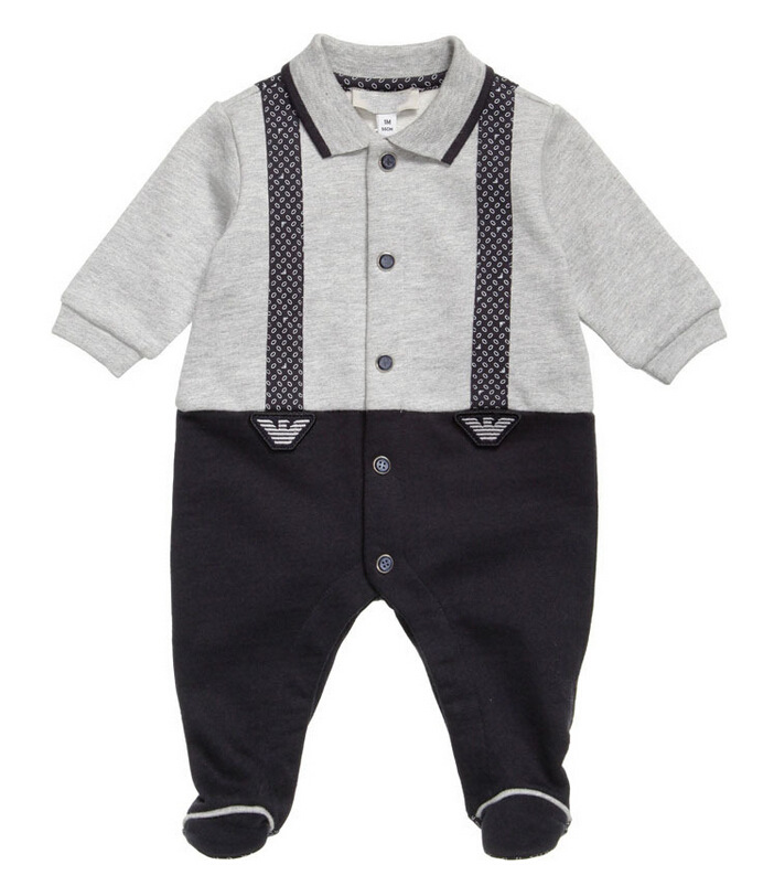 2017 Spring and Autumn new baby cotton Europe and the USA baby harness baby long-sleeved baby children with body clothing<br><br>Aliexpress