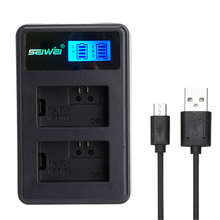 NP-FW50 NPFW50 USB Dual Rapid Battery Charger with LED Screen for SONY NEX5T 5100 A6000 A33 A55 A7R(China)