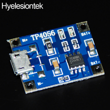 25pcs TP4056 For Arduino Nano 5V 1A Lithium Battery DIY Electronic Micro USB Convert Port Charging Board Module Lipo Charger(China)
