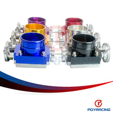 PQY RACING- NEW THROTTLE BODY 80MM THROTTLE BODY PERFORMANCE INTAKE MANIFOLD BILLET ALUMINUM HIGH FLOW PQY6980