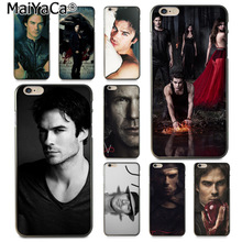 Buy MaiYaCa Vampire Diaries Ian Somerhalder New Arrival Fashion phone case cover Apple iPhone 8 7 6 6S Plus X 5 5S SE 5C for $1.47 in AliExpress store