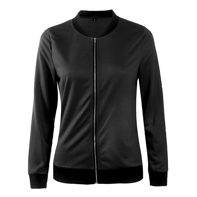 Hot Sprzedaż Jesień Tanie Ubrania Kobiet Małe Krótkie Kurtki Z Długim Rękawem Zipper Fly Outwear Kurtki Płaszcze Slim Cienkie Stylu topy Coat 13