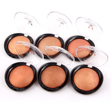 Miss Rose Baked Blush Brand Makeup Natural Baked Blusher Powder Palette Charming Cheek Color Make Up Face Blush Cosmetics Set