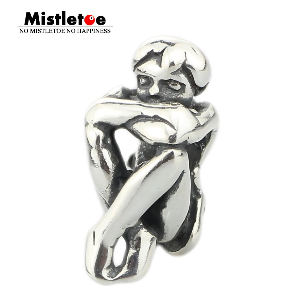Mistletoe Genuine 925 Sterling Silver SPIRIT OF FREEDOM Charm Bead Fits European Brand Troll 3.0mm Bracelet Jewelry