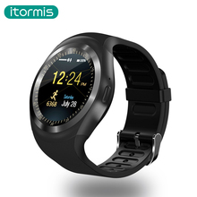 itormis W01 Smart Watch Touch Screen Fitness Activity Tracker Android Smartwatch Sleep Monitor Pedometer SIM TF Card PK DZ09 A1(China)