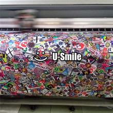 Wrap Vinyl Sticker Bomb Sheet Graffiti Air Free Vehicle Wrap Graphics For Car Graphics Motorcyle Mcabook 30M/Roll