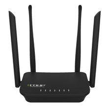 Wireless WiFi Router 300mbps Wi-Fi Repeater Four 6dbi Antenna English Language Firmware Router Repeater mode 1WAN+2LAN RJ45 Port