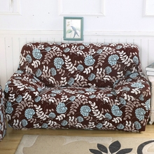 Hot Selling Sofa Cover All- inclusive Slipcovers 100% Polyester Slip-resistant Elasticity Chaise Cover Home Decor 1/2/3/4 seat