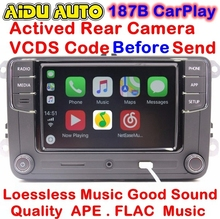 RCD330 Plus CarPlay Radio For VW Golf 5 6 Jetta MK5 MK6 CC Tiguan Passat Polo Touran 6RD 035 187 B 6RD035187B(China)