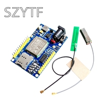 1PCS A7 GSM GPRS GPS 3 In 1 Module Shield DC 5-9V Wireless Module for STM32 51MCU Support Voice Short Message Universal